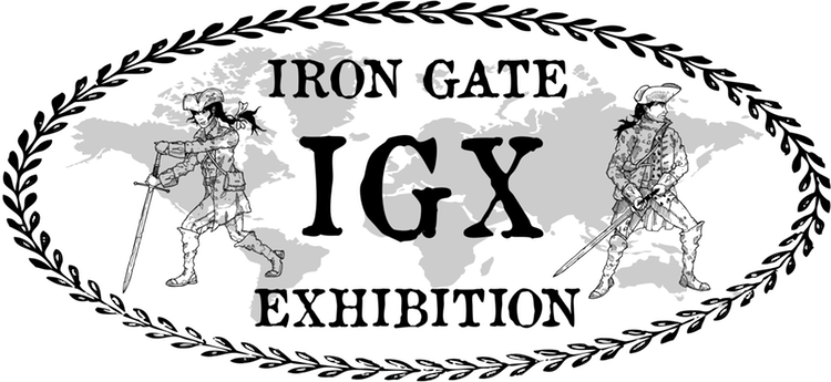 Logo Iron Gate Exhibition
